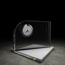 Kryształowy zegar do laserowego grawerowania