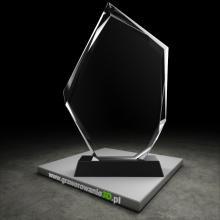 Statuetka kryształowa do grawerowania 2D
